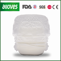 Alloves Baby disposable diapers manufacturer OEM/ODM acceptable
