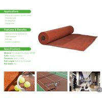 EPDM roller for sports surface thumbnail image