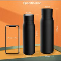 Stainless Steel Travel Mug Smart Water Bottle with Reminder Thermos Thermos Vacuum Water Bottle thumbnail image