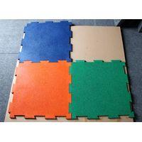 Interlocking rubber mats rubber tiles