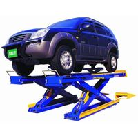 Car Lift : SCISSORS LIFT FOR ALIGNMENT (DL-5500)