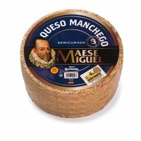 Semicured Manchego Cheese PDO   Maese Miguel