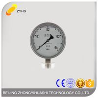 High quality stainless steel pressure gauge