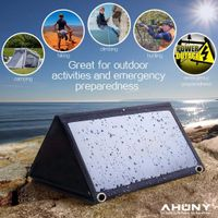 21w solar charger quick charge technology mppt over voltage current charging protect for cellphone
