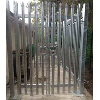 China professional custom W section metal palisade fencing