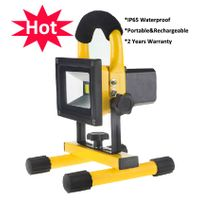 IP65 Waterproof Outdoor LED Floodlight 10W/20W/30W/50W 2700/2800k Warmer White Rechargeable LED Floo thumbnail image
