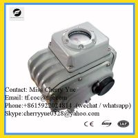 Sell 24V 110V 220V 380V on-off type 4-20ma CTB Electric Valve Actuator
