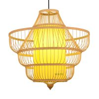 Natural bamboo product 2020 ceiling light pendant lamp thumbnail image