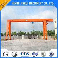 Construction Lifting Equipment Single Girder Gantry Crane Manufacturer