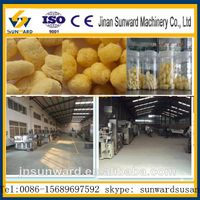 Made in China corn puff snack food extruder machine