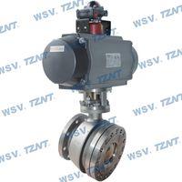Titanium pneumatic discharge valve