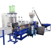 plastic PET pellets making machine plastic PET recycle granule machine