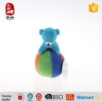 Cheap stuffed animals on the plush ball children toys manufacture