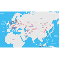 railway service from China to Europe/Russian/CIS/MONGOLIA
