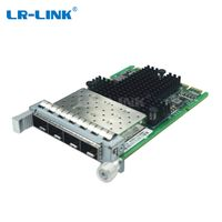 LR-LINK OCP 3.0 Quad-port Mezzanine 10G SFP+ Ethernet Network Adapter with Intel Chipset