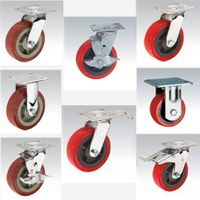 Heavy duty Caster pp caster pvc caster pu caster red thumbnail image