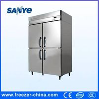 Kitchen Use Double Temperature Commercial Refrigerator