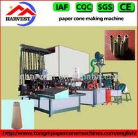 High-efficient paper cone machine for textile
