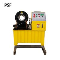 "1/4-2"" PSF-51 hydraulic hose crimping machine"