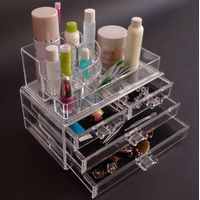 Equisite Acrylic Makeup Organizer with Drawer thumbnail image