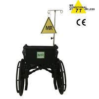 7.0 Tesla MRI compatible wheelchair for MR room use