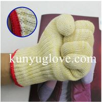100% aramid heat resistant Oven Gloves household gloves,heat resistant gloves