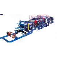 Automatic Aluminium Sandwich Rock Wool Composite Board Panel Rolling Forming Machinery
