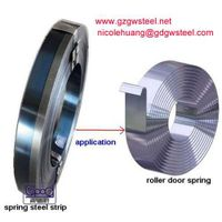 rolling shutter band spring steel strip