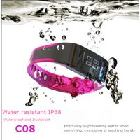 0.96inch screen sports Smart Bracelet medical standard waterproof IP68