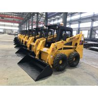 Shandong origin construction loading machine mini skid steer loader for sale