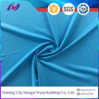 85 Polyester 15 Spandex Elastic fabric Semi-dull Leggings Swimwear Fabric
