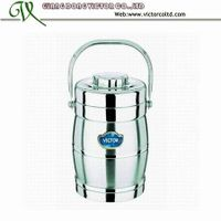 Wholesale Factory Direct stainless steel thermal vacuum lunch box food container hot POt