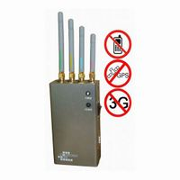 5-Band Portable Cell Phone & GPS Jammer