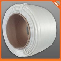 polyester tension fiber cord strap(25mm)/composite strap/woven strap in straping