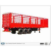 12.4m stake trailer(fence cargo semi trailer)