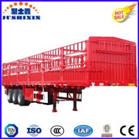 Tri-Axle Livestock & Farm Goods Carrier Stake Truck Trailers thumbnail image