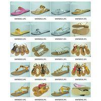 ladies sandals (sandals, thongs, slippers, flip flops, clogs, flats, flat shoes, womens sandals, sho thumbnail image