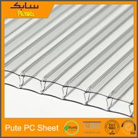 UV Protection 4mm polycarbonate panel sunroom roof panels prices