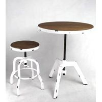 industrial furniture, concrete top furniture, concrete dining tables, cement top furniture, shabby c