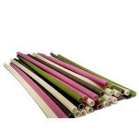 Bamboo straws / Plant-based drinking straws (new design straws made of rice flour)