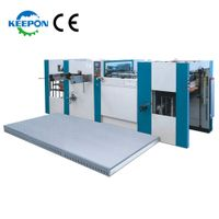 AD-800E Flatbed Automatic Die Cutting And Creasing Machine