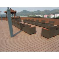 China Easily installed wpc outdoor flooring,composite decking, waterproof wpc decking