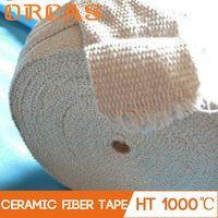 Stainless steel reinforced ceramic fiber insulation tape for pipeline thumbnail image