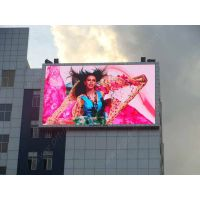 P16 real pixel full color outdoor advertising led display