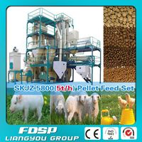 Professional manufacture chicken feed processing plant / chicken feed making machines