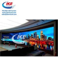Soft Flexible LED Curtain Display LED Screen