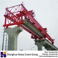 Top quality China HSHCL 100Ton bridge construction machine , bridge beam launcher for sale