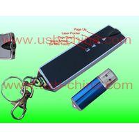 IR card shape wireless rc (remote control )usb laser (lazer ) pointer with keychain