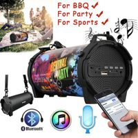 SL-10S Bluetooth Speaker Portable Outdoor Wireless Speakers With Carrying Strap Built In USB, TF Car thumbnail image
