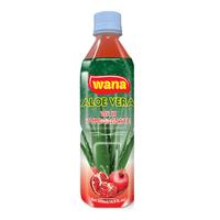 Wholesale Aloe Vera Juice Drinks in Bottle 500ml With Pomegranate Flavor